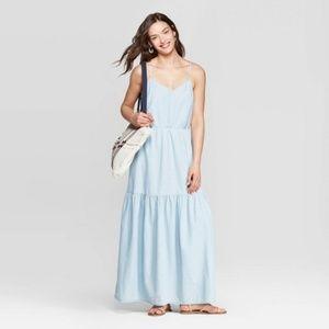 Denim Maxi Dress (NWT)
